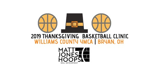 2019 Thanksgiving Basketball Clinic (3rd & 4th Grade) - Matt Jones Hoops