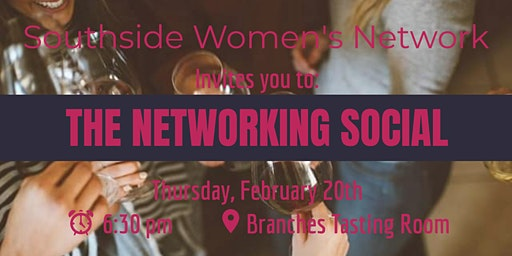 SWN February Networking Social - Branches Tasting Room