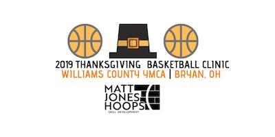 2019 Thanksgiving Basketball Clinic (5th & 6th Grade) - Matt Jones Hoops