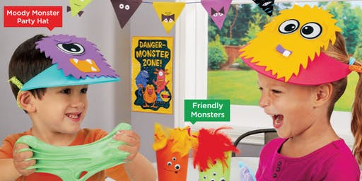 Lakeshore's Free Crafts for Kids Monster Celebration Saturdays in October (Friendswood)