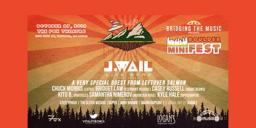 BOULDER MINIFEST: J.WAIL ft. MEMBERS OF LEFTOVER SALMON, LOTUS & MORE