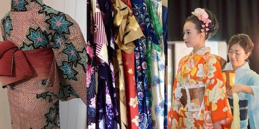 Yukata (Cotton Kimono) workshop