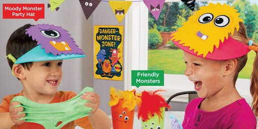 Lakeshore's Free Crafts for Kids Monster Celebration Saturdays in October (Henderson)