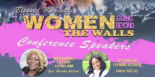 Women going beyond the walls