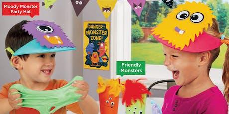 Lakeshore's Free Crafts for Kids Monster Celebration Saturdays in October (Hamden) tickets