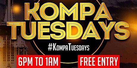 KOMPA TUESDAYS @ Katra Lounge tickets