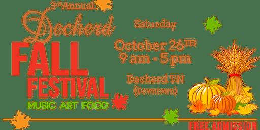 3rd Annual Decherd Fall Festival