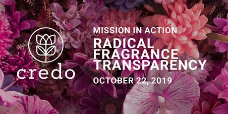 Mission in Action Cocktail Party and Panel - Fragrance Transparency tickets