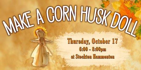 Make a Corn Husk Person! tickets