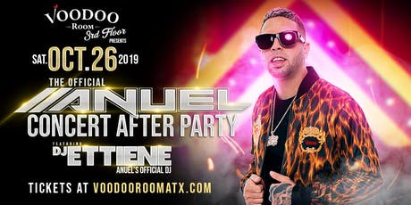 The Official Anuel Concert After Party tickets