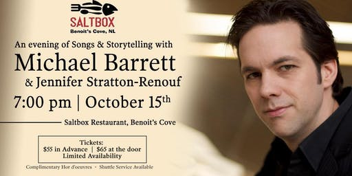 An evening with Michael Barrett & Jennifer Stratton-Renouf