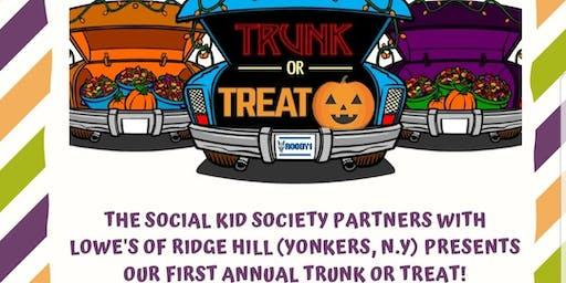 The Social Kid  Society Trunk or Treat