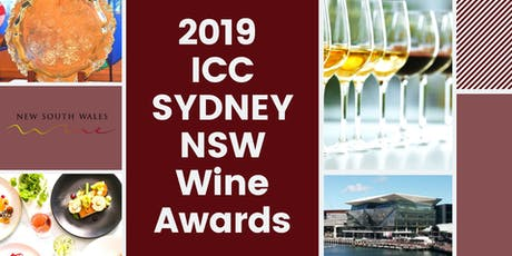 2019 ICC Sydney NSW Wine Awards Presentation Luncheon tickets