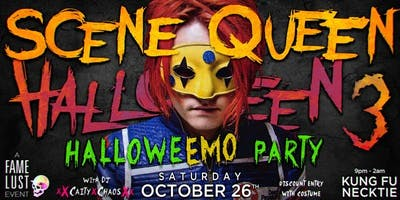 Scene Queen Halloween 3 (HalloweEMO Party)