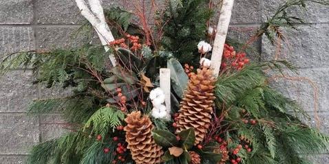 Outdoor Holiday Planter Workshop