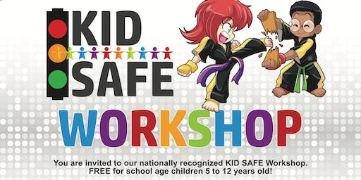 Kid's Safe Beginner Kids Karate Workshop