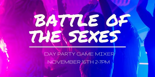 The Battle of the Sexes Day Party Game Mixer