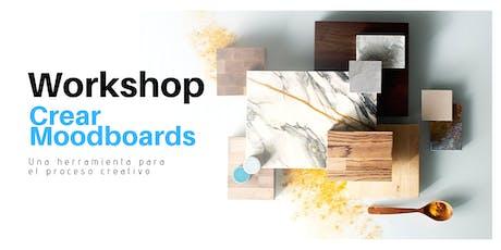 workshop  Crear Moodboards entradas
