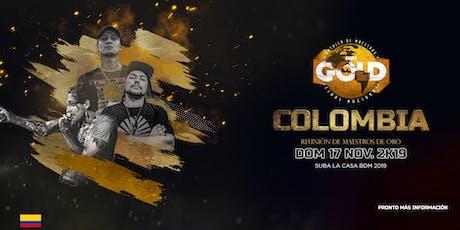 BDM GOLD (FINAL NACIONAL COLOMBIA 2019) boletos