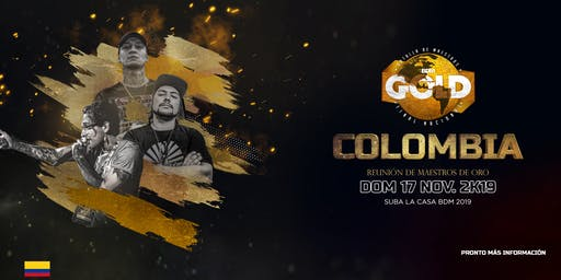 BDM GOLD (FINAL NACIONAL COLOMBIA 2019)