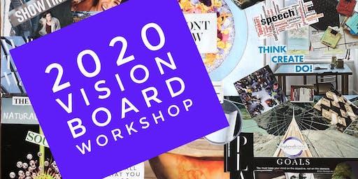 Vision 2020:  Aspiration to Action Vision Board Workshop
