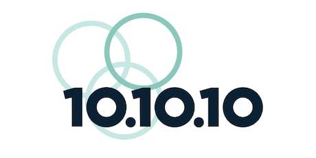 10.10.10 Meetup tickets