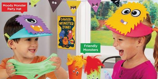Lakeshore's Free Crafts for Kids Monster Celebration Saturdays in October (Matthews)