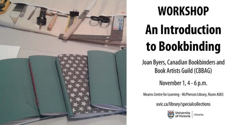 Workshop: An Introduction to Bookbinding