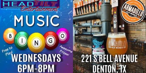 Music Bingo at Armadillo Ale Works - Denton, TX