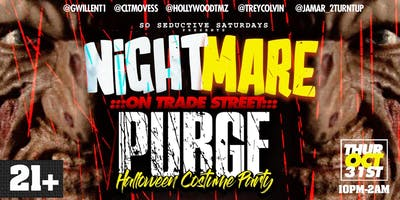 Nightmare  On Trade St Halloween PURGE Costume Party