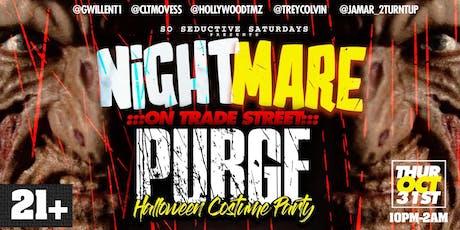 Nightmare  On Trade St Halloween PURGE Costume Par tickets