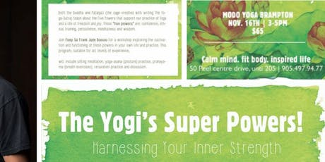 The Yogi's Super Powers tickets