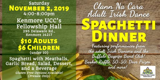 Clann Na Cara Adult Irish Dance Spaghetti Dinner