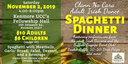Clann Na Cara Adult Irish Dance Spaghetti Dinner