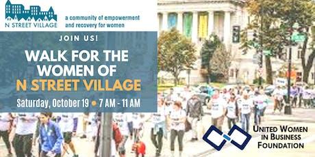 UWIB DC Presents: Walking for the Women of N Street Village tickets
