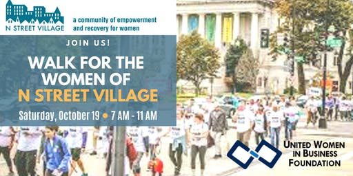 UWIB DC Presents: Walking for the Women of N Street Village