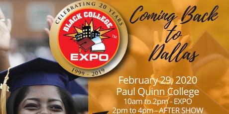 2nd Annual Dallas Black College Expo tickets