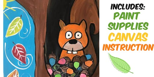 KIDS Squirrel-Friday Nov 8th at 6:30 pm @ The Kreativ Studio