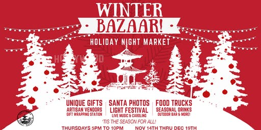 Winter Bazaar / Holiday Night Market