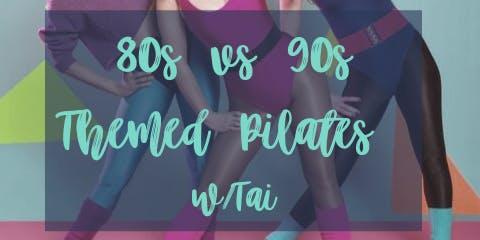 80s vs 90s Theme Pilates class