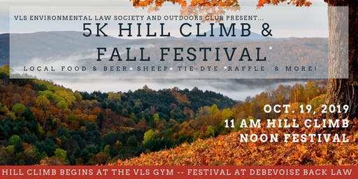 South Royalton's First Annual 5k Hill Climb and Fall Festival