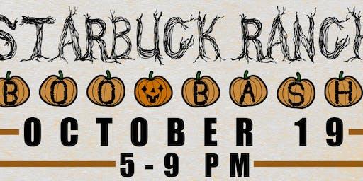 BOO BASH at Starbuck Ranch