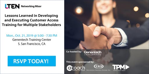 LTEN & Genentech Networking Mixer