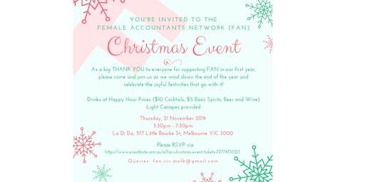 FAN Christmas Event