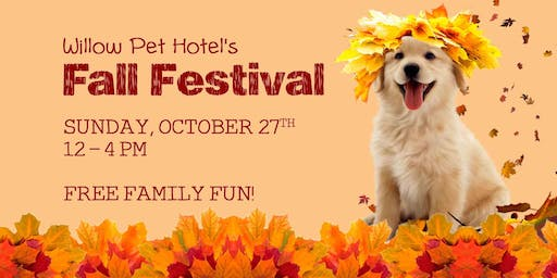 Willow Pet Hotel Fall Festival