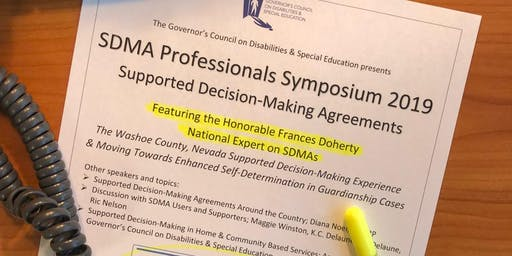 SDMA Professionals Symposium 2018