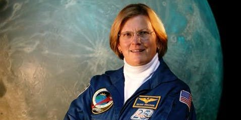 Astronaut Kathryn D. Sullivan, the First American Woman to Walk in Space