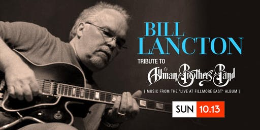 Bill Lancton | Allman Bros | Live at the Fillmore