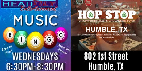 Music Bingo at The Hop Stop - Humble, TX tickets