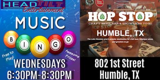 Music Bingo at The Hop Stop - Humble, TX